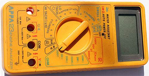 Auto Multimeter APPA 25, 23.