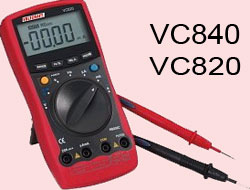 Voltсraft VC840, VC820 - repair and malfunctions.